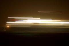 ljusa strimmor Arkivfoton