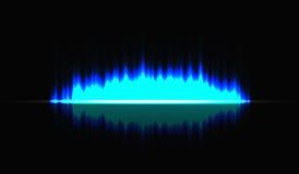 Ljusa vertikala band på en isolerad bakgrund Gnistor av ljusa strålar också vektor för coreldrawillustration Royaltyfria Bilder