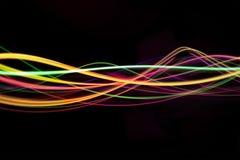 ljusa waves Arkivbild