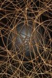 ljusbåg svart sugrör för bollen Royaltyfria Foton