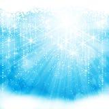 Ljusblå bakgrund