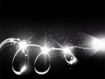Ljusblixtar Arkivfoton