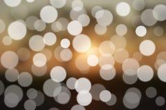LjusBokeh bakgrund Arkivbilder