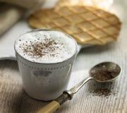 ljusbrun cappuccino Royaltyfria Foton