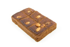 ljusbrun fyllt typisk för kaka holländare Royaltyfria Bilder