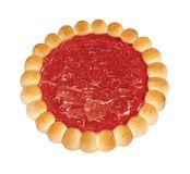 Ljusbrun jordgubbegeléillustation förbi OBS royaltyfri illustrationer