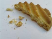 Ljusbruna smörgåskakor arkivfoto