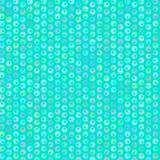 Ljusbubblamodell på blå bakgrund, vektor Royaltyfri Fotografi