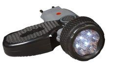 Ljusdiod-ficklampa. Arkivbild
