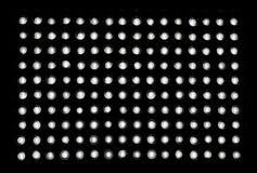 Ljusdiod-lampor arkivbild