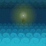Ljuset av hopp Arkivbild