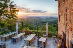 Ljuset av Tuscany Royaltyfri Fotografi