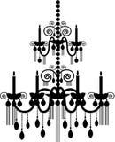 ljuskrona royaltyfri illustrationer