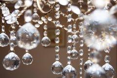 ljuskronakristall arkivbilder