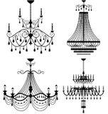 Ljuskronalampa Royaltyfri Fotografi