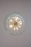 Ljuskronalampa från botten Royaltyfri Fotografi