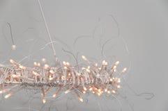 ljuskronalampan förde modernt Royaltyfri Bild