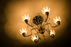 Ljuskronaljus Arkivbild