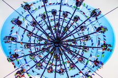 Ljuskronatakfönster Royaltyfri Foto