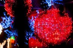 ljusröd boll Arkivbild