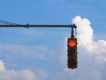 ljusröd trafik Royaltyfri Foto