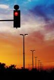 ljusrött Fotografering för Bildbyråer