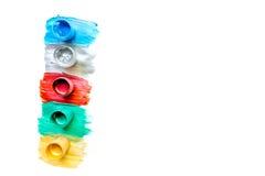 Ljust abstrakt utrymme för textur för bästa sikt för målarfärgteckningsbakgrund för text Royaltyfri Bild