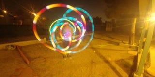 Ljust böjande jonglera Fotografering för Bildbyråer