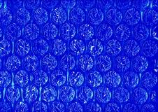 Ljust blått geometriskt abstrakt begrepp Arkivbild