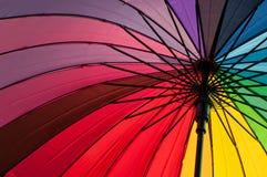 ljust färgrikt paraply Royaltyfri Fotografi