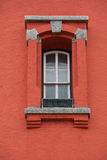 ljust fönster för hus royaltyfri bild