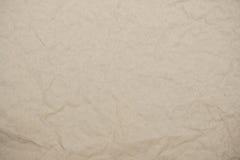 Ljust förpackande skrynkligt papper som bakgrund Royaltyfri Fotografi