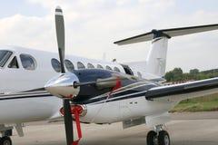 Ljust flygplan Royaltyfria Foton