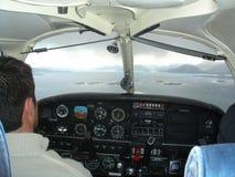 Ljust flygplan Royaltyfria Bilder