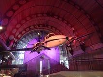 Ljust flygplan i museet, Longreach, Queensland Royaltyfri Bild