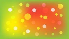 Ljust - grön vektorbakgrund med cirklar Illustration med upps?ttningen av att skina f?rgrik gradering Modell f?r h?ften, broschyr stock illustrationer