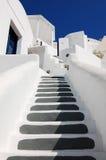 ljust målad trappa Royaltyfri Fotografi