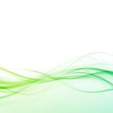 Ljust - prickigt modernt certifikat för grönt abstrakt begrepp vektor illustrationer