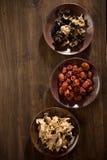 Ljust rödbrun champinjon för torr jujube för ört kinesisk Royaltyfria Foton