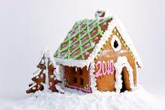 ljust rödbrun hus Royaltyfri Foto