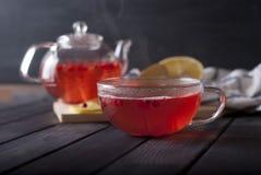 ljust rödbrun varm tea Royaltyfri Bild