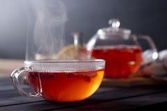 ljust rödbrun varm tea Royaltyfri Foto
