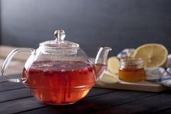 ljust rödbrun varm tea Royaltyfri Fotografi