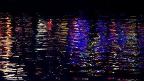 Ljust reflektera från vatten i Hoi An arkivfoto