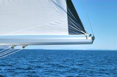 ljust segla Fotografering för Bildbyråer