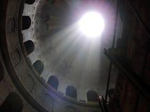 ljust tempel Arkivfoto
