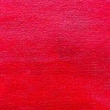 Ljust texturerad kanfasbakgrund för röd färg abstrakt begrepp Royaltyfri Foto