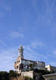 ljust torn för alcatrazö Arkivfoto