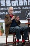 Ljutomer, SLOVENIA il 27 luglio: rifugi del signore christopher, CA Fotografia Stock