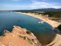 Ljuva landskap av ön av Olkhon Royaltyfri Bild
